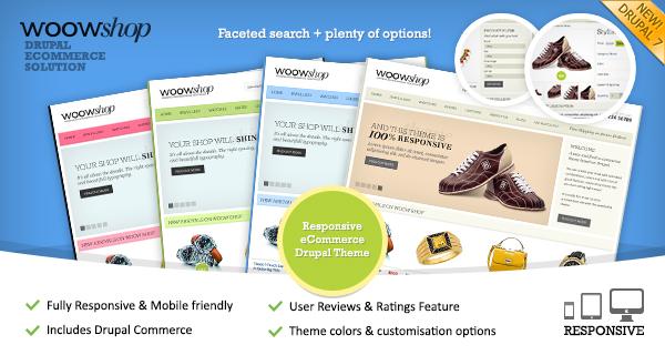 wowshop responsivo drupal