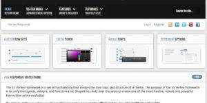 vertex tema e framework wordpress